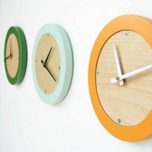 L' horloge murale, idées en photos pour décorer vos murs!