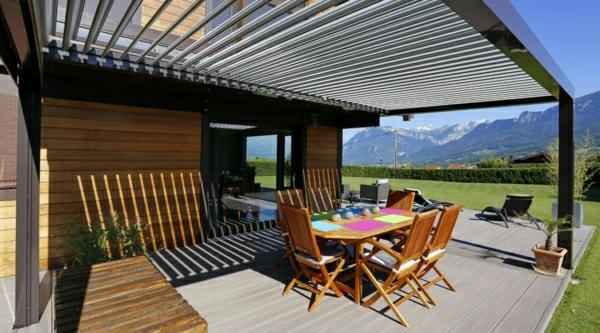 la pergola bioclimatique d coration et fonctionnalit pour l 39 ext rieur. Black Bedroom Furniture Sets. Home Design Ideas