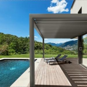 La pergola bioclimatique - décoration et fonctionnalité pour l'extérieur
