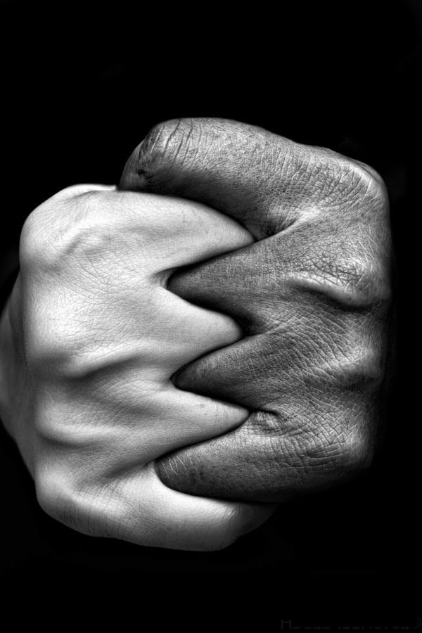 Photos de femmes nues en noir et blanc - France Salopes