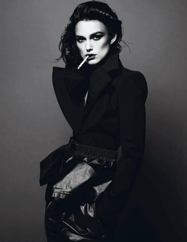 photographie-actrisse-noir-et-blanc-portrait-Keira-Knightley-photo-jolie