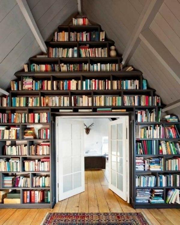placard-sous-comble-livres