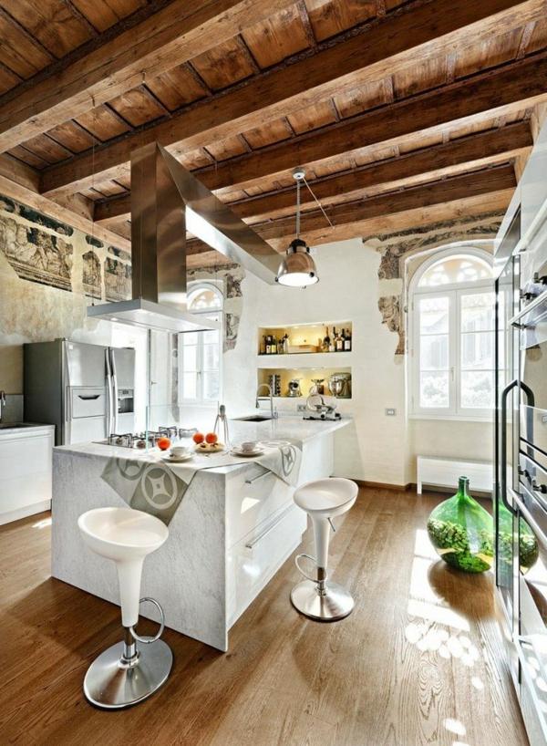 plan-de-travail-en-marbre-cuisine-loft-originale