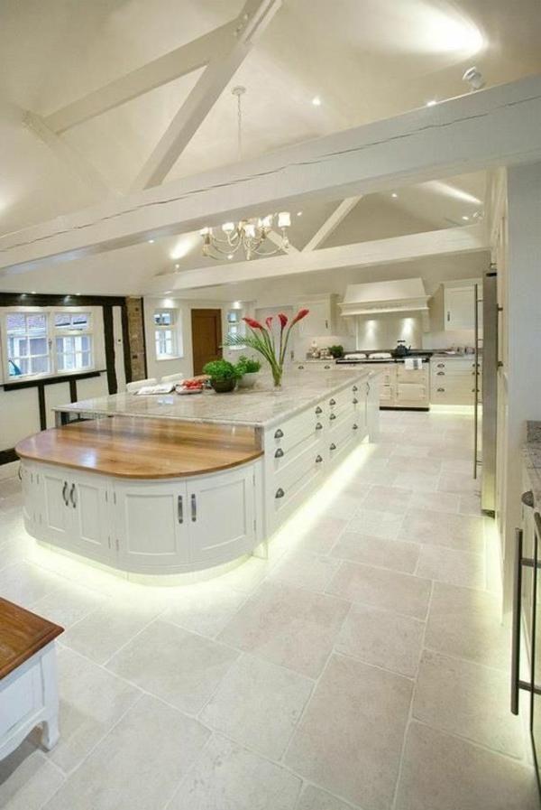 Le plan de travail en marbre - Creer un plan de travail cuisine ...