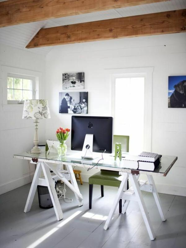 plateau-de-bureau-en-verre-chambre-loft