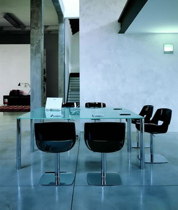 Le plateau de bureau en verre pour votre office la maison for Plateau bureau en verre