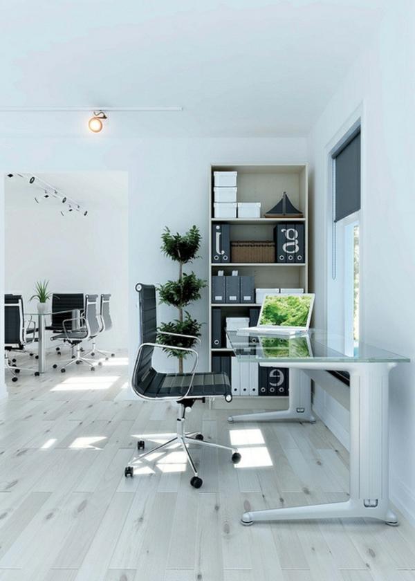 plateau-de-bureau-en-verre-parquet-massif-chaise-ergonomique