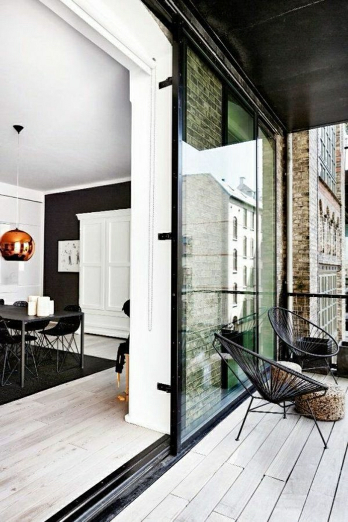 la porte coulissante en 43 variantes magnifiques. Black Bedroom Furniture Sets. Home Design Ideas