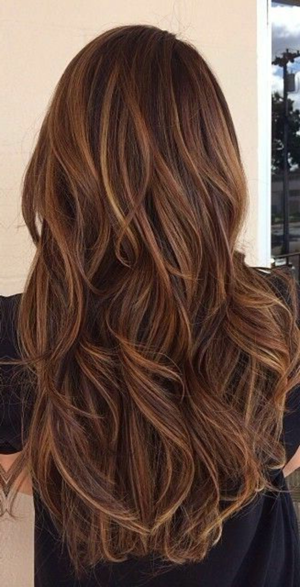 Idee coiffure couleur cheveux long