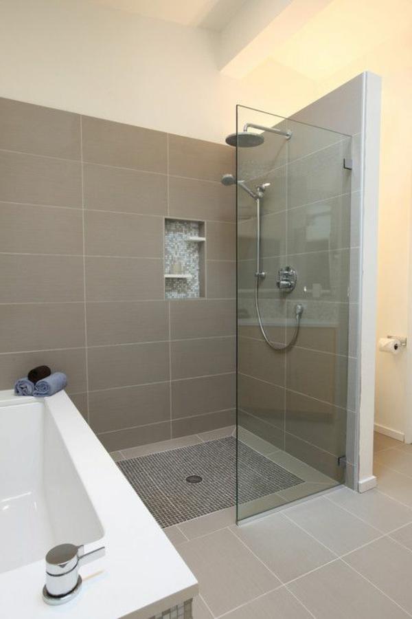Le receveur de douche extra plat l gance pour la salle for Briquette salle de bain