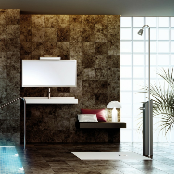 receveur-de-douche-extra-plat-douche-exposée