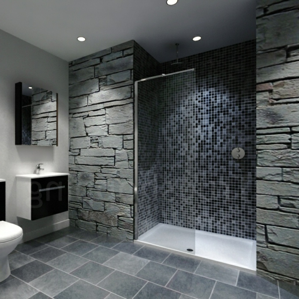 le receveur de douche extra plat l gance pour la salle. Black Bedroom Furniture Sets. Home Design Ideas