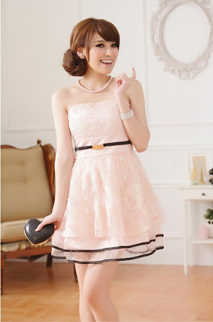 robes-demoiselles-d-honneur-fille-rose-pale