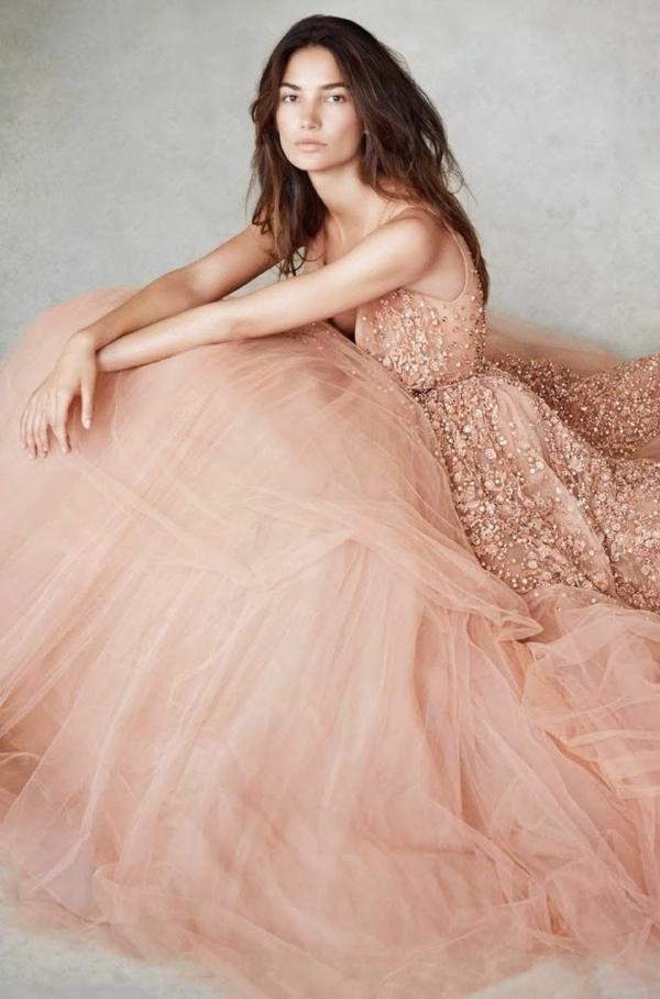 robes-pour-une-mariage-rose-de-princesse-belle