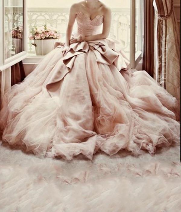 robes-pour-une-mariage-rose-de-princesse