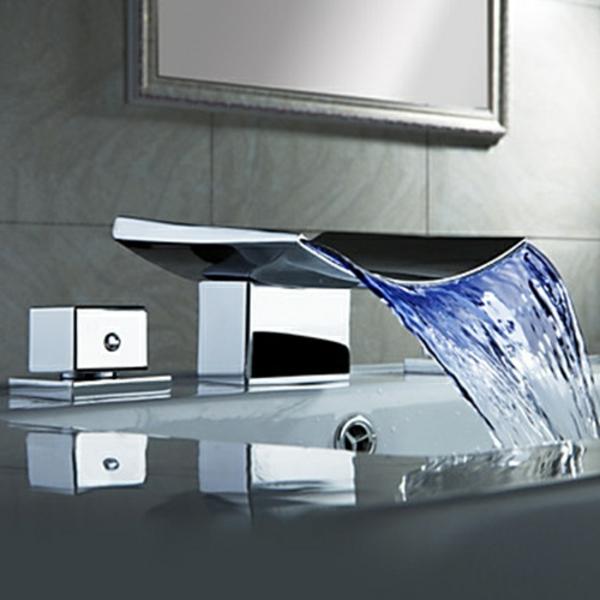 robinet-cascade-mitigeur-en-chrome-original