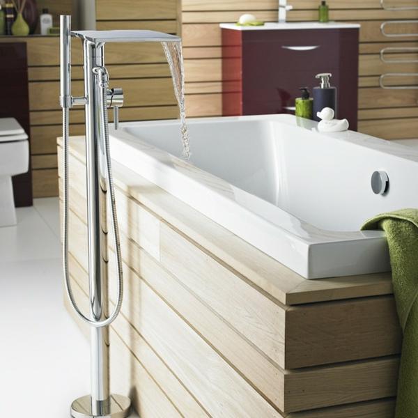 La robinetterie de baignoire pour la salle de bains for Robinetterie salle de bain