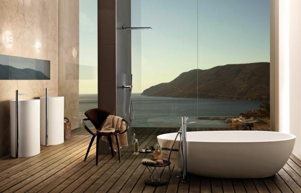 robinetterie-de-baignoire-idées-inspirantes-de-salles-de-bain-contemporaines
