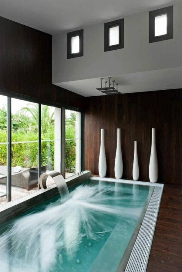 Salle De Bain Moderne Avec Baignoire - Maison Design - Bahbe.com