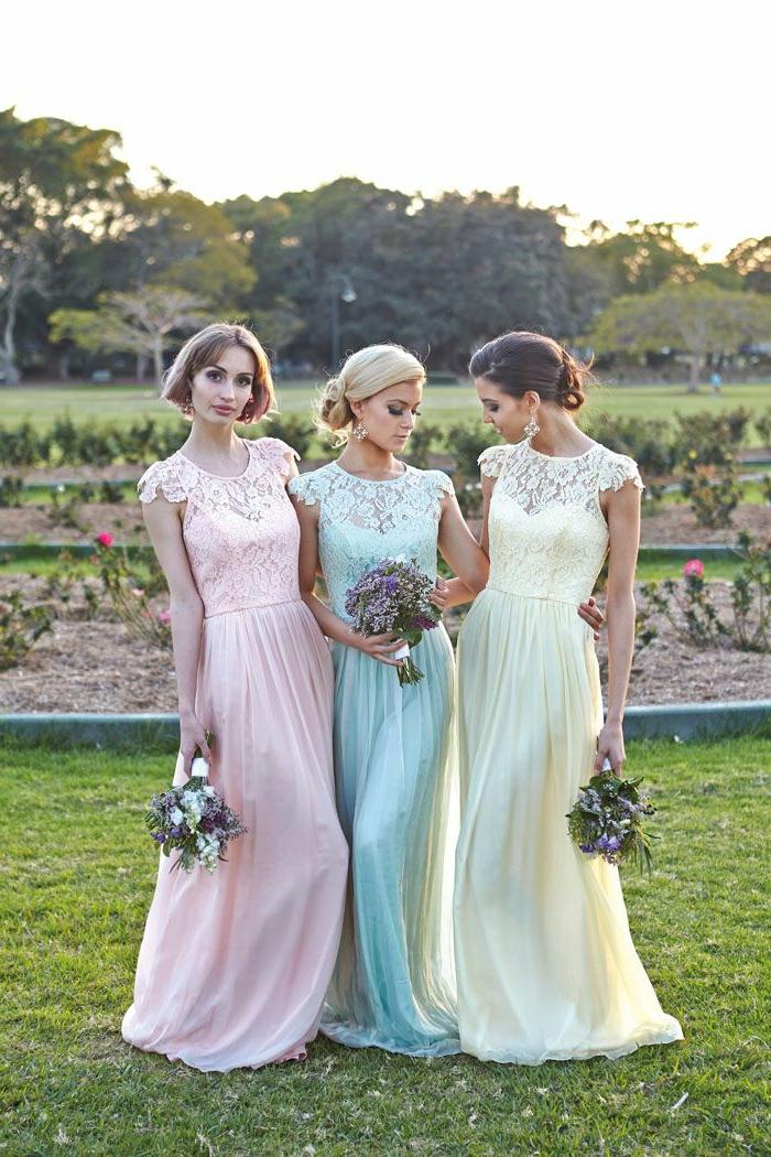 La robe de demoiselle d 39 honneur choisir la meilleur for S habiller pour le mariage d hiver