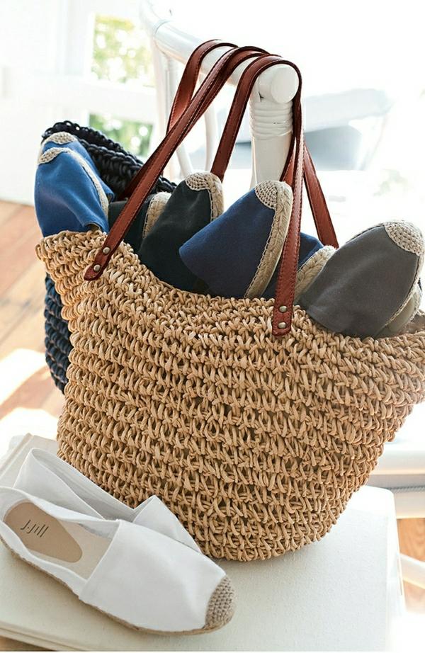 quel sac de plage pour cet t id es en 57 photos. Black Bedroom Furniture Sets. Home Design Ideas