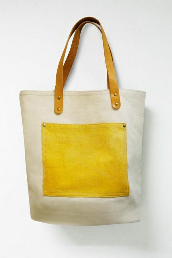 sac-de-plage-à-main-en-tissu-jaune0beige-femme