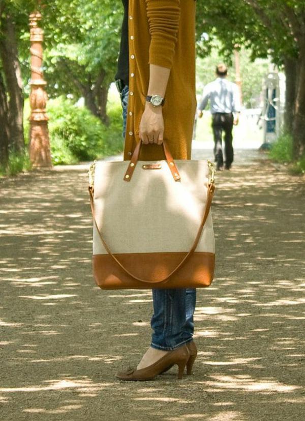 sac-en-toile-et-cuir-accessoires-trendy