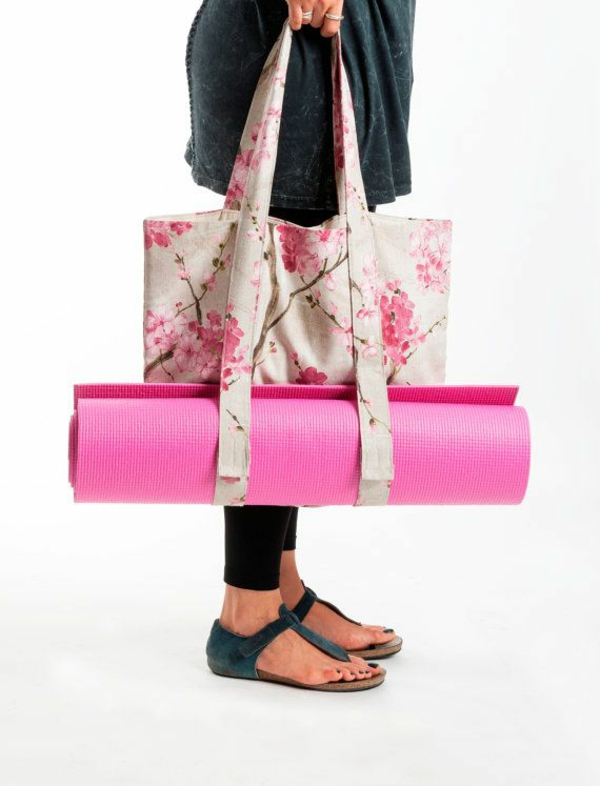 sac-en-toile-sac-de-yoga-floral