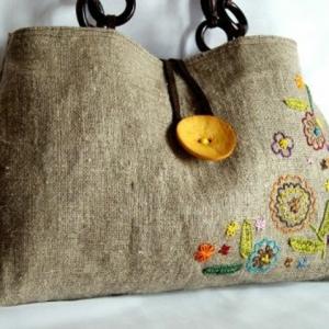 Le sac en toile - mode et praticité