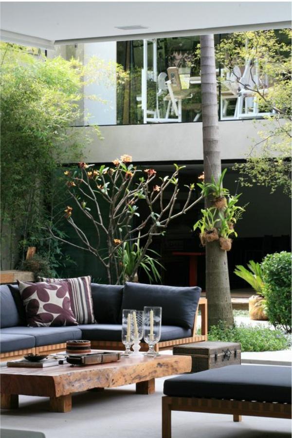 70 photos de tables de jardin qui vont transformer la cour - Petite table de salon de jardin ...