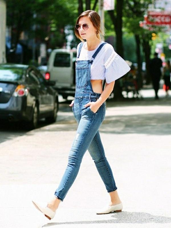 salopette-en-jean-skinny-femme-lunettes-de-soleil-mode