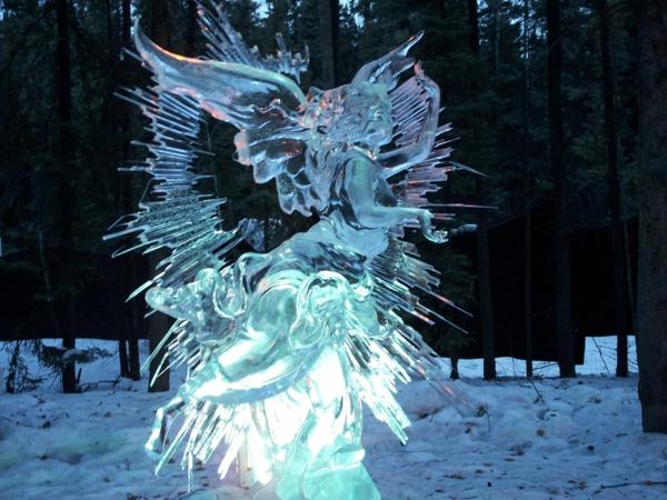 sculpture-de-glace-Cupidon
