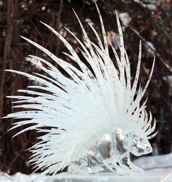 sculpture-de-glace-animal
