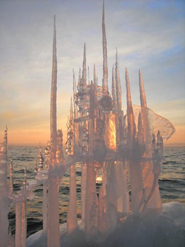 sculpture-de-glace-château-mystique