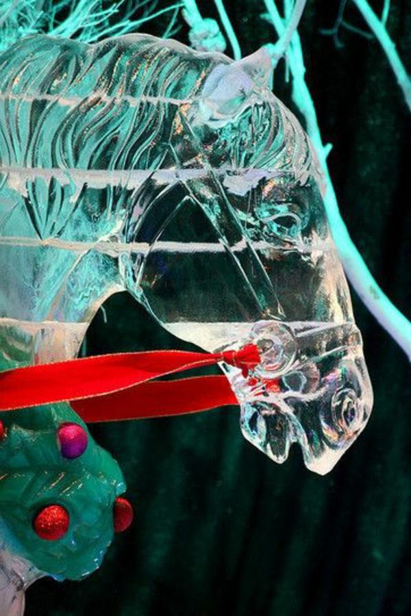 sculpture-de-glace-cheval