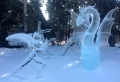 La sculpture de glace – une inspiration hivernale