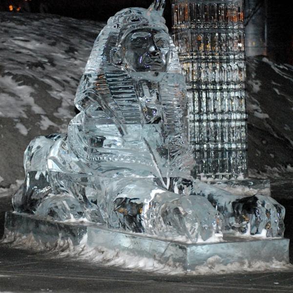 sculpture-de-glace-le-Sphinx