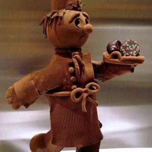 La sculpture en chocolat - une jolie tentation