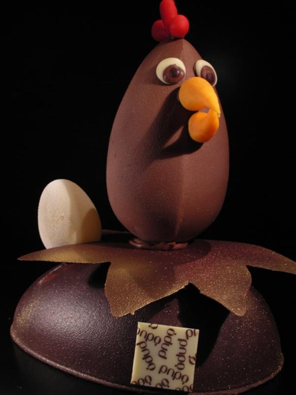sculpture-en-chocolat-coq-en-chocolat