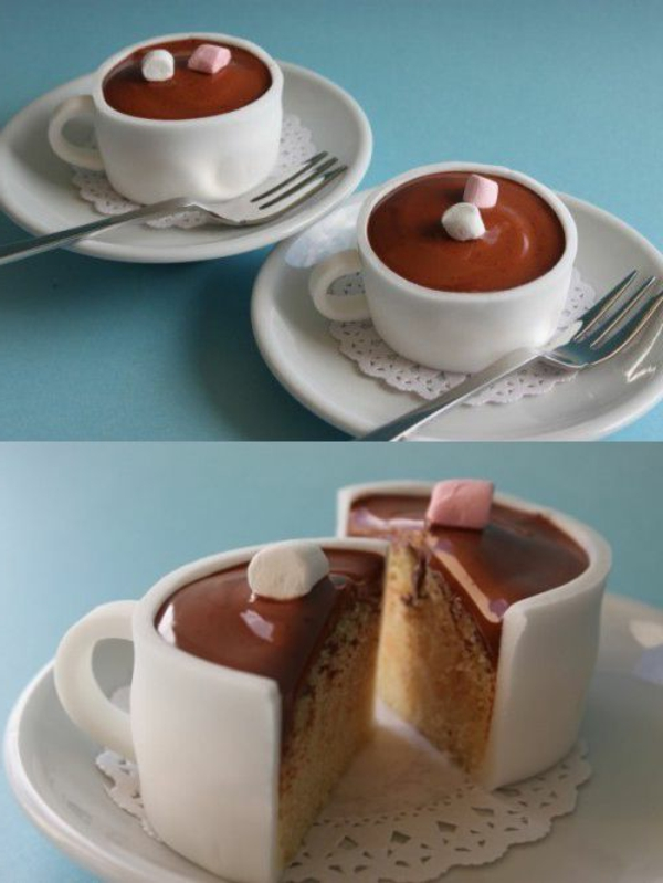 sculpture-en-chocolat-des-tasses-à-café