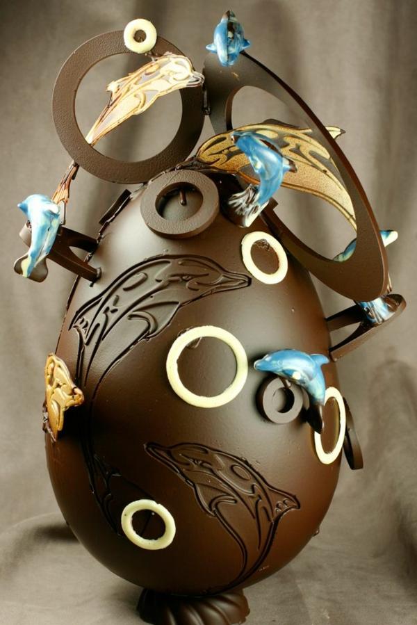 sculpture-en-chocolat-oeuf-de-pâques-original