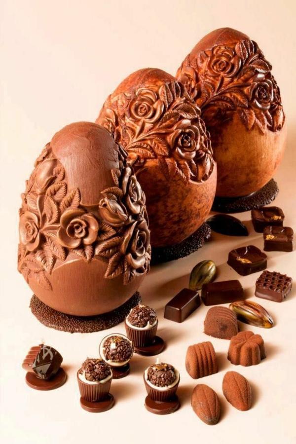sculpture-en-chocolat-oeufs-de-pâques