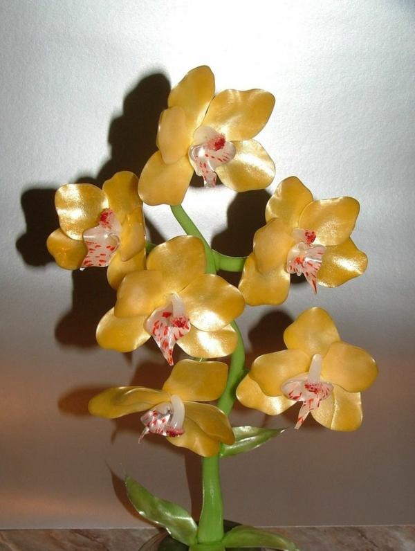 sculpture-en-chocolat-orchidée