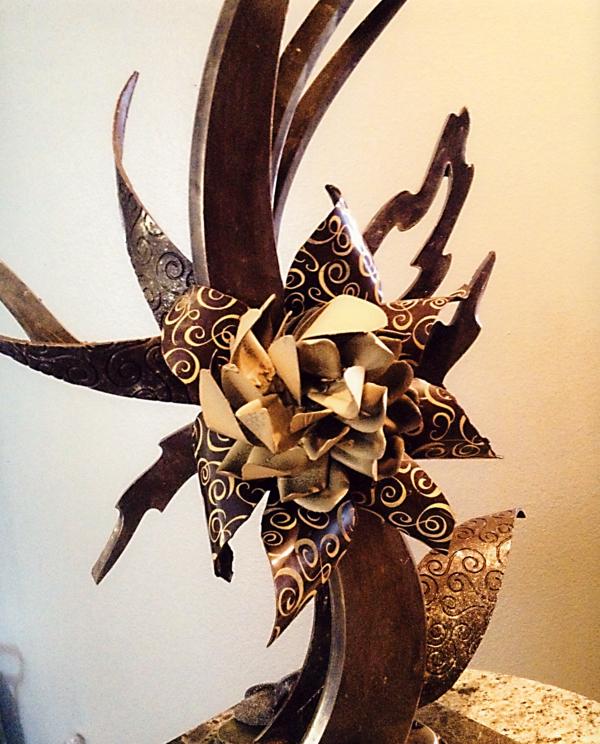sculpture-en-chocolat-sophistiquée