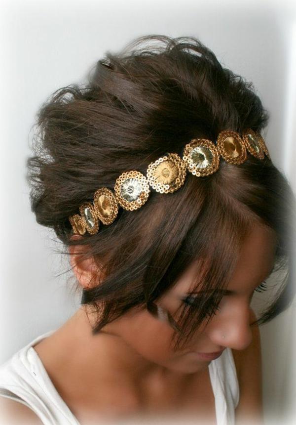 serre-de-tete-fille-brunette-accessoire-de-cheveux-en-or