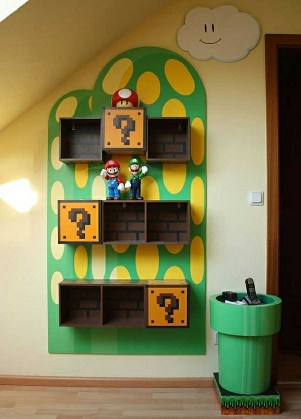 super-mario-Fete-cadeau-geek-idee-originale-amenagement-etageres