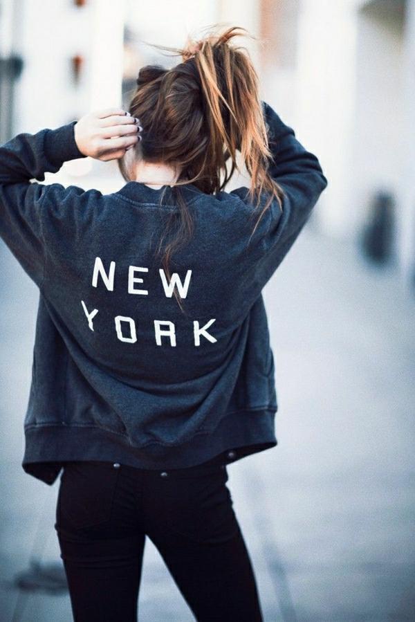 sweatshirt-femme-new-york-mode-tendance-de-l-été-2015
