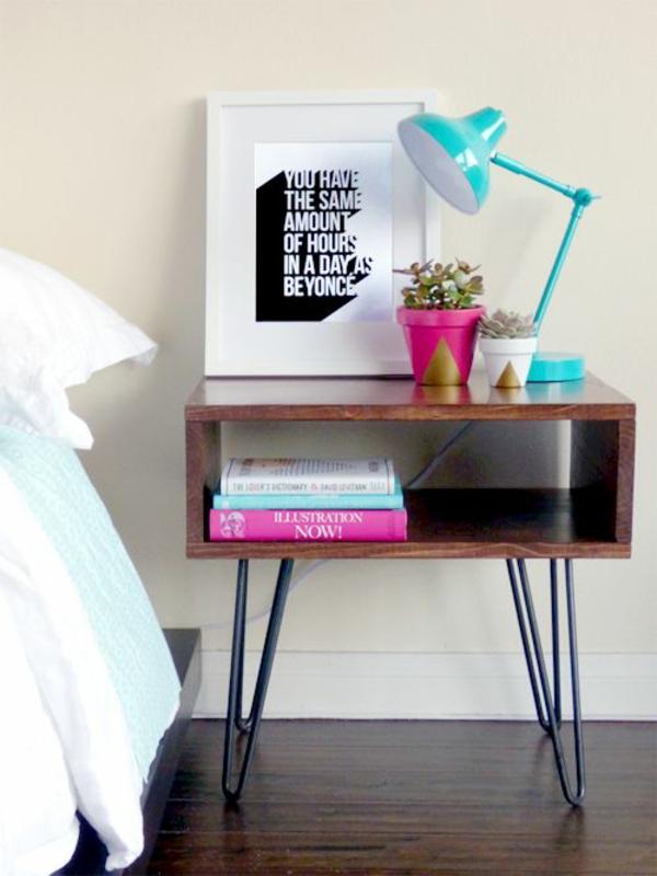 Quelle table de chevet choisir pour votre jolie chambre for Plante pour chambre a coucher