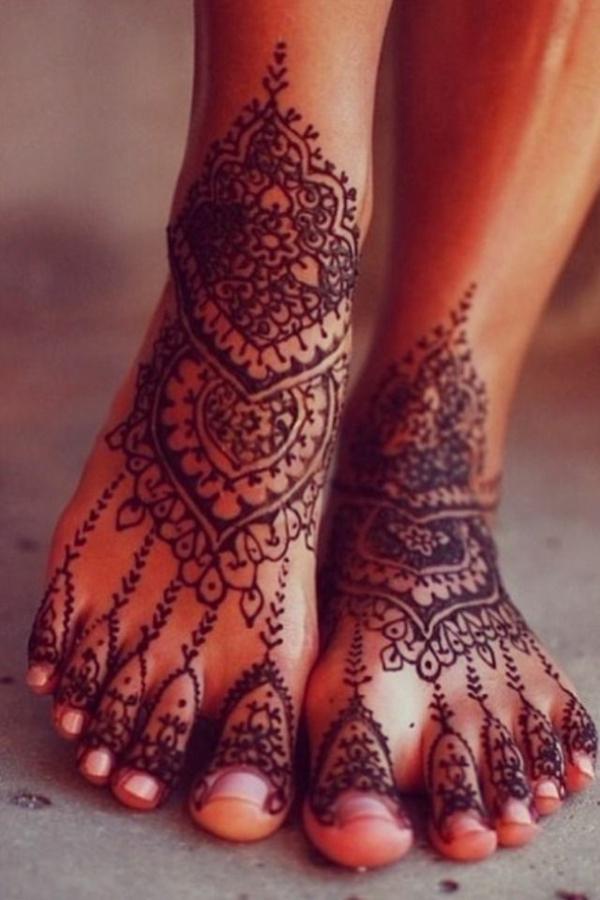 60 id es avec le henn pour cr er de l 39 art - Modele de henna ...