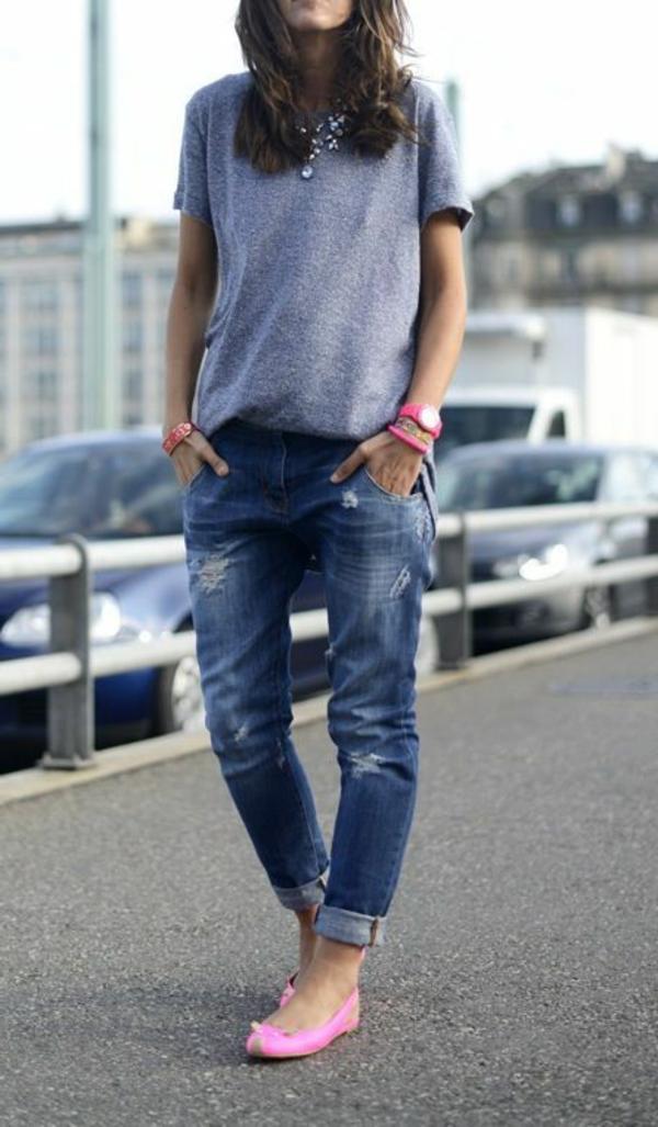 tenue-de-jour-casuel-jeans-femme-rose